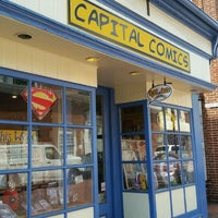 Photo taken at Capital Comics by Bob B. on 9/1/2016