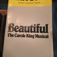 Photo taken at Beautiful: The Carole King Musical by Weiley O. on 9/13/2017