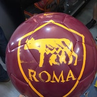 Photo taken at AS Roma Store by Liliana F. on 5/27/2017