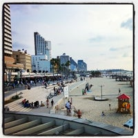 Photo taken at Tel Aviv Marina promenade by Arnon G. on 10/11/2014