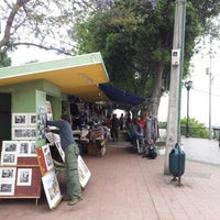Photo taken at Paseo 21 de Mayo by Ian J. on 12/20/2012