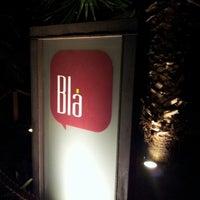 Photo taken at Blá Bar by Ian J. on 10/20/2012
