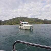 Photo taken at Cruise @ Sun Moon Lake by 디바파티 on 11/26/2012