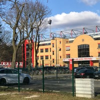 Photo taken at Stadion An der Alten Försterei by @tessa H. on 2/24/2018