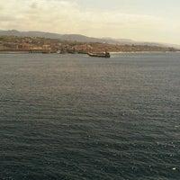 Photo taken at Porto di Villa San Giovanni by Donato S. on 4/17/2013