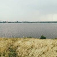 Photo taken at Малый Конный полуостров by Anton B. on 8/3/2013