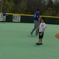 Photo taken at Miracle Field-Springboro by Shannon T. on 4/27/2013