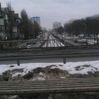 Photo taken at Міст Вацлава Гавела by Vickuha S. on 2/6/2013