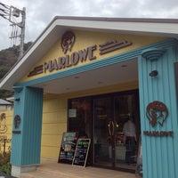 Photo taken at プリンショップ & カフェ マーロウ (MARLOWE) 逗葉新道店 by Toshihiro N. on 10/28/2012