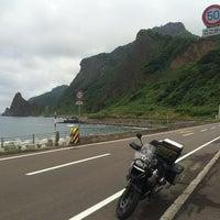 Photo taken at 珊内漁港 by Toshihiro N. on 7/23/2014
