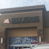 Photo taken at Sky Zone Trampoline Park by Mary Ann on 2/15/2017