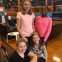 Photo taken at Sky Zone Trampoline Park by Mary Ann on 1/25/2017