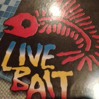 Photo taken at Live Bait by Sondra J. on 10/12/2012
