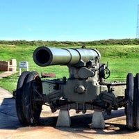 Photo taken at Fort Morgan State Historic Site by Sondra J. on 7/14/2013