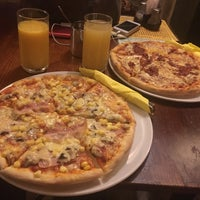 Photo taken at Don Quijote Pizzéria by Viktoria Z. on 10/10/2016