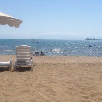 Photo taken at BOTAŞ Plajı by İrem P. on 9/8/2013
