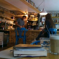 Photo taken at Telep Art Bar and Bistro by Andrea K. on 10/10/2012
