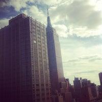 Photo taken at Residence Inn by Marriott New York Manhattan/Times Square by Jasper V. on 9/16/2012