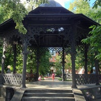Снимок сделан в Сад «Эрмитаж» пользователем ol_ol . 6/19/2013