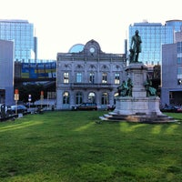 Photo taken at Luxemburgplein / Place du Luxembourg by Pedro O. on 8/13/2013