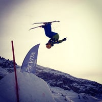 Das Foto wurde bei PlayStation Vita Ischgl Snowpark von Kiereall K. am 1/9/2013 aufgenommen