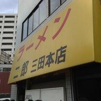 Photo taken at Ramen Jiro by Akinori O. on 2/2/2013