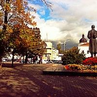 Снимок сделан в Контрактовая площадь пользователем Roman P. 10/9/2012