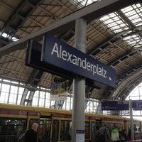 Photo taken at Bahnhof Berlin Alexanderplatz by Bunkinho on 10/27/2012