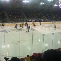 Photo taken at Quinnipiac Athletic and Recreation Center by Samantha A. on 1/23/2013