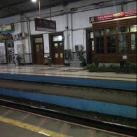 Photo taken at Stasiun Bogor by yfais on 1/10/2013