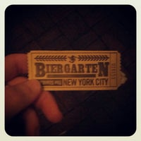 Photo taken at The Biergarten at The Standard by Alaattin T. on 10/27/2012