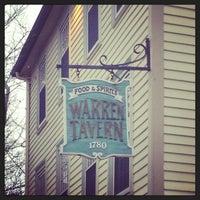 Photo taken at Warren Tavern by Bri S. on 1/11/2013