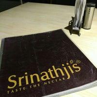 Photo taken at Srinathji's - Taste The Nectar by Rubeel N. on 4/15/2016