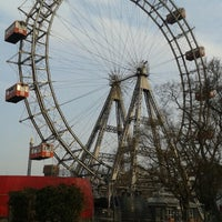Das Foto wurde bei Riesenradplatz von Olga S. am 3/21/2015 aufgenommen