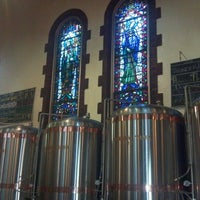 Photo taken at The Church Brew Works by Nancy P. on 7/6/2013