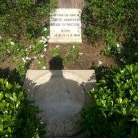 4/21/2013 tarihinde Burak B.ziyaretçi tarafından Zübeyde Hanım Anıt Mezarı'de çekilen fotoğraf