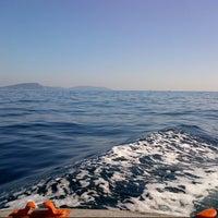 Photo taken at Sea of Marmara by Ayberk B. on 10/14/2012