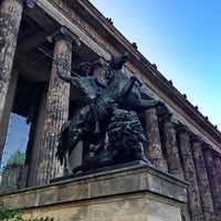 Photo taken at Altes Museum by Daniel K. on 7/17/2013