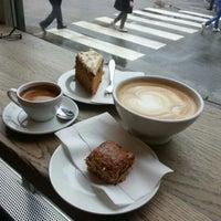 Photo taken at Kaffebrenneriet by Olga on 5/9/2013