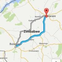 Photo taken at Bulawayo Rainbow Hotel by Sam M. on 1/17/2014