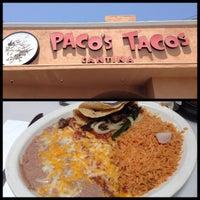 Foto tomada en Paco's Tacos por Aaron I. el 5/9/2013