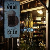 Photo taken at Good Beer NYC by Jason on 3/1/2013