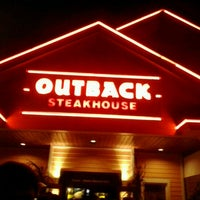 Photo taken at Outback Steakhouse by Carlos M. on 10/12/2012