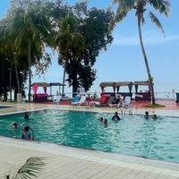 Photo taken at Tanjung Bidara Beach Resort by Mya M. on 11/1/2014