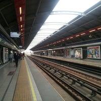 Photo taken at Metro Rojas Magallanes by Juan Pablo B. on 10/5/2012