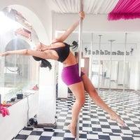 Photo taken at Rio Pole Dance Stdio by Mayara Rocha on 7/11/2014