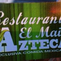 Photo taken at El Maíz Azteca by Naila on 7/14/2013