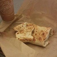 Photo taken at Sandella's Flatbread Cafe (SCNE Bldg) by Gilbert H. on 1/31/2013