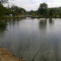 Photo taken at Pesqueiro e Restaurante Green Camp by Micaellen P. on 11/15/2012