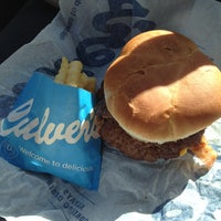 Photo taken at Culver's by Rachel on 2/28/2014